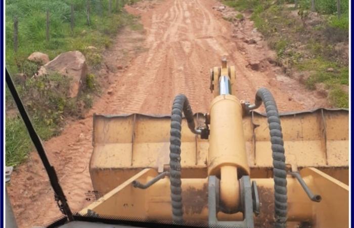 Conservação dos estradas em Barão de Melgaço.