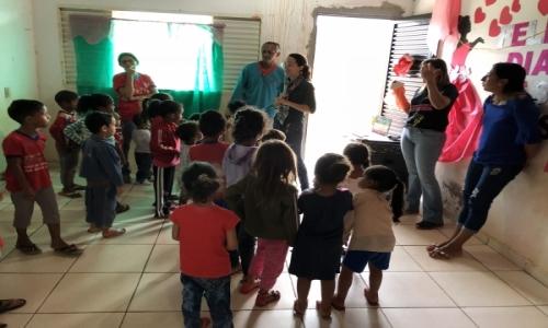 O CRAS em parceria com o Conselho Tutelar realizou no dia 17 de Maio de 2018 a Palestra com Fantoche sobre o Abuso e a Exploração Sexual Infantil de Crianças e Adolescentes