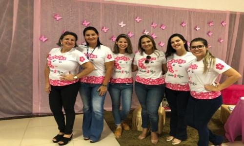 A Prefeitura Municipal de Barão de Melgaço através da Secretaria Municipal de Saúde e SESC realizou no dia 17 de Outubro de 2019 a Palestra de Prevenção do Cancer do Colo Uterino (Outubro Rosa).