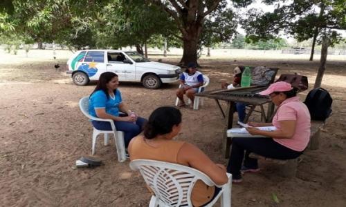 A Equipe Volante do CRAS realizou Atendimento na Comunidade do Mucambo