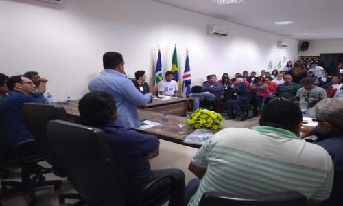 A Secretária Municipal de Saúde, e o Coselho Municipal de Saúde de Barão de Melgaço, realizaram neste dia 24 de Junho de 2019, a 6ª Conferência Municipal de Saúde, com o titulo