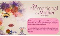 Dia 08 de Março de 2018 - Dia Internacional da Mulher