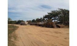 Prefeitura realiza manutenção de estradas em comunidades
